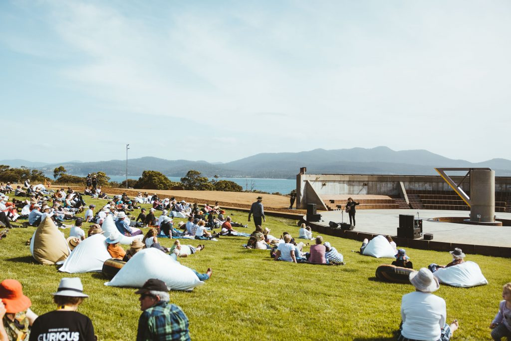 The Amphitheatre as an outdoor performance space