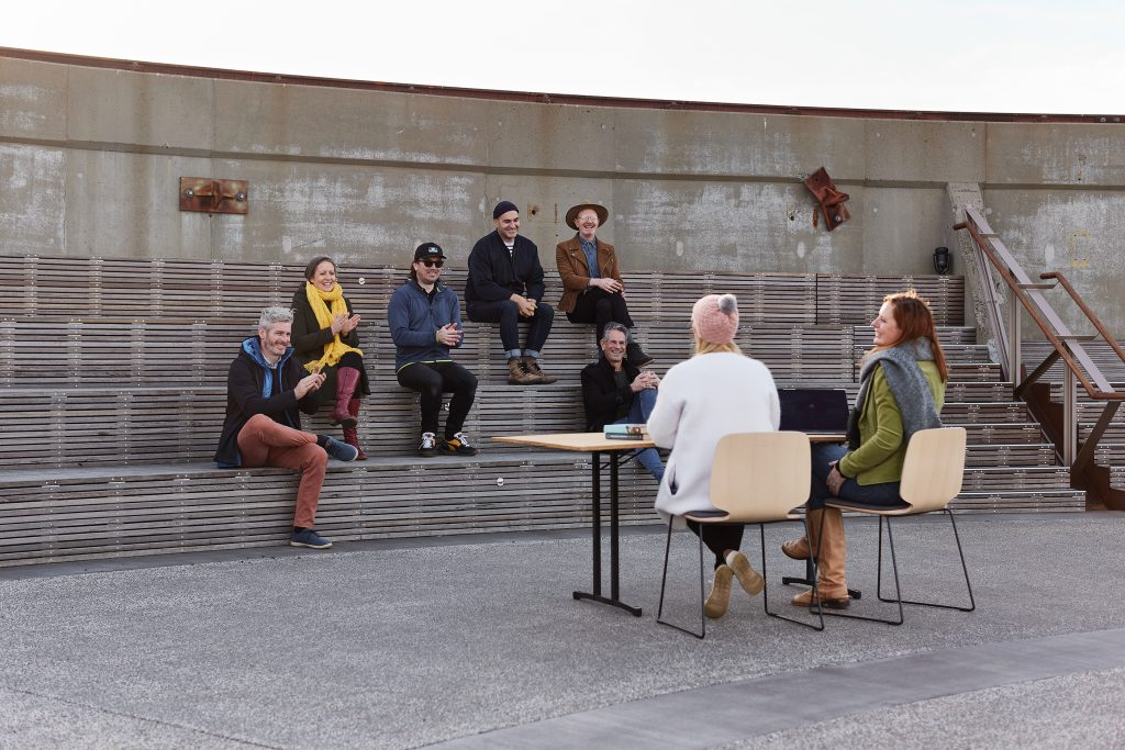 The Amphitheatre, an outdoor office